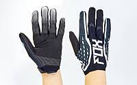 Кроссовые перчатки текстильные FOX BC-4829-3. Кросові рукавички