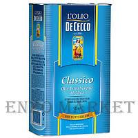 Оливковое масло De Cecco Olio Extra Vergine di Oliva, 5 л.