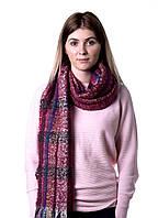 Стильный шарфик из акрил Бордо