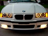 Ангельские глазки ccfl BMW E36/Е38/Е39/Е46 (Желтые)