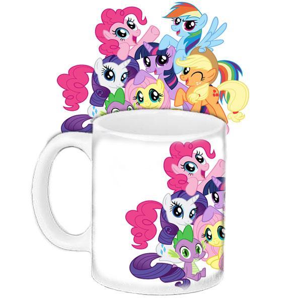 Детская чашка подарок с принтом Пони