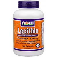 Лецитин Now Foods - Lecithin 1200 мг (100 капсул)