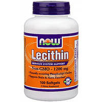 Лецитин Now Foods - Lecithin 1200 мг (100 капсул)