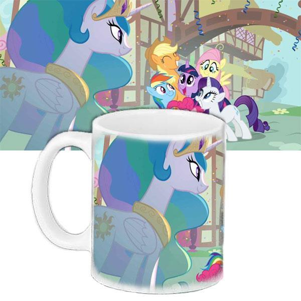 Детская чашка подарок с принтом Литл Пони