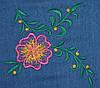 """НВ-04/2 Блузка-рубашка  """"цветок"""" (44р) (ф), фото 3"""