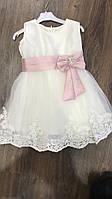 Детское платье, праздничное, нарядное