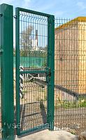 Калитка из прутьев ПВХ покрытие 1м*2м