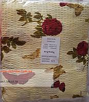 Полуторный комплект постельного белья NovaTex с цветочным принтом