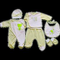 Комплект ясельный для новорожденных (6 предметов)