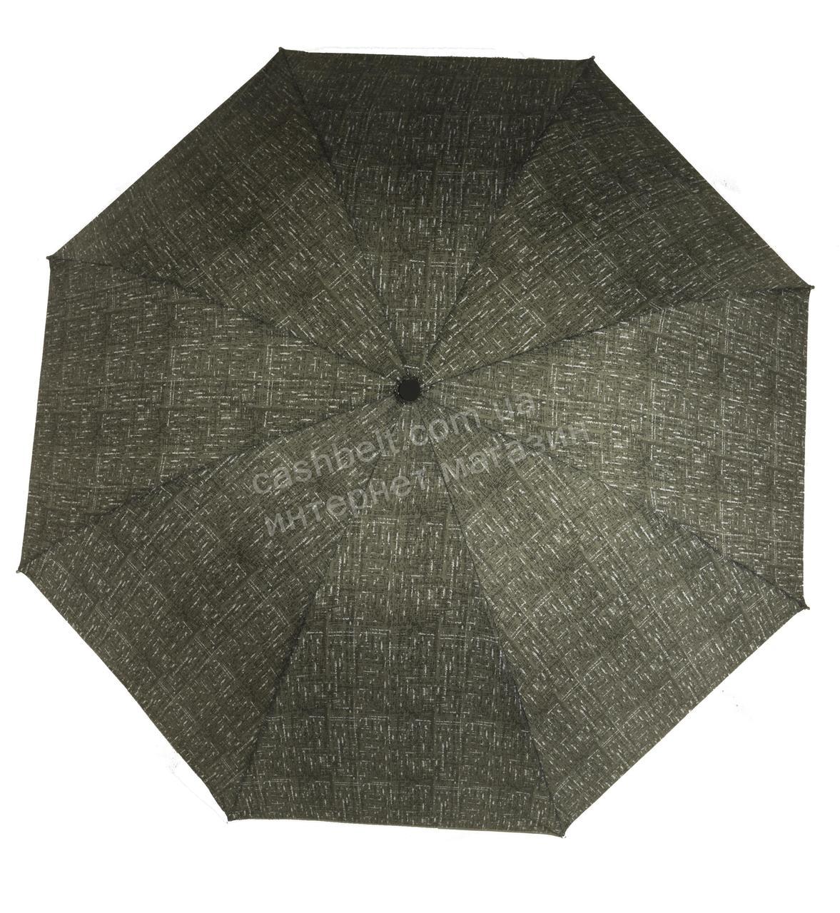 Женский симпатичный компактный прочный механический зонтик MARIO UMBRELLAS art. A077 зеленый (101721)