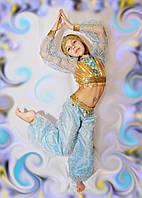 Костюм восточной красавицы для девочки голубая