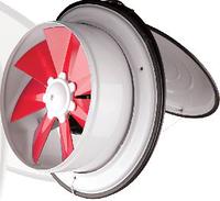 Вентилятор осевой оконный Dundar K 16