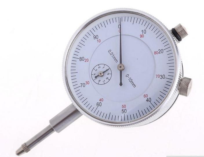Індикатор годинникового типу від 0-10мм, поділ 0.01 мм з вушком