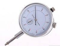 Индикатор часового типа от 0-10мм,  деление 0.01 мм с ушком