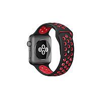 Ремешок Apple Watch Sport Nike+ 38 mm черный/красный