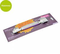 Нож для фигурной нарезки 3.4/2.4см двухсторонний с лезвием из нержавеющей стали Fissman