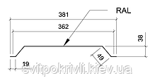 Металлическая фасадная панель Комплект, фото 3