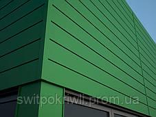 Металлическая фасадная панель Сити, фото 2