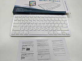 Отличная беспроводная клавиатура keyboard bluetooth BK3001 X5