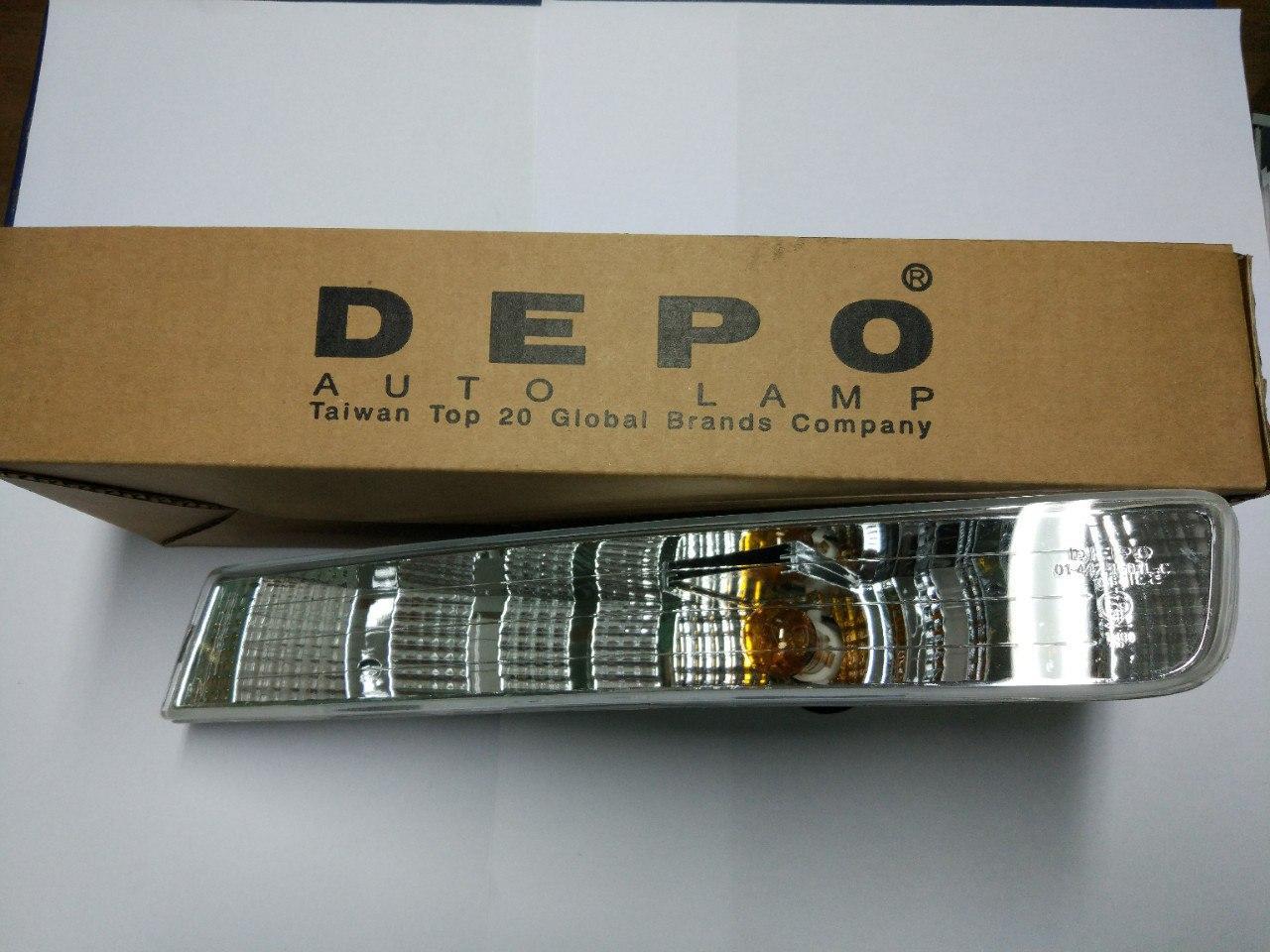 Поворотник лівий Opel Vivaro 2001-2006, Depo 442-1601L-AE
