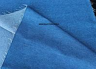 Джинс плотный и стрейч (голубой)