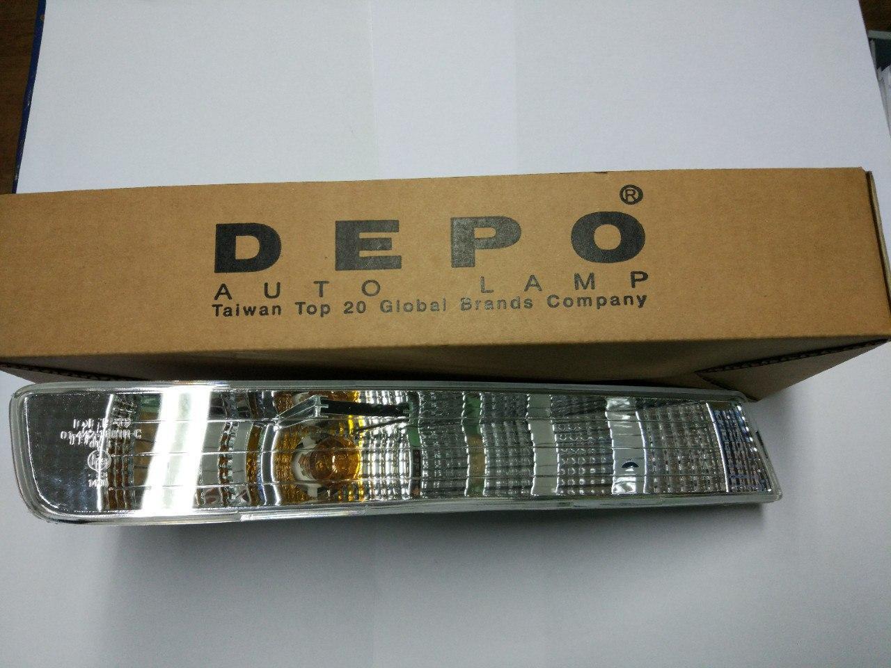 Поворотник правий Opel Vivaro 2001-2006, Depo 442-1601R-AE