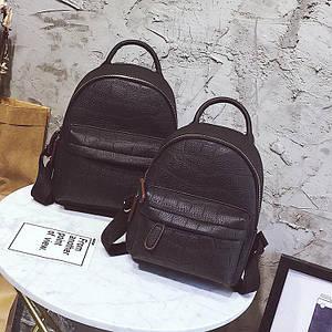 Модный мини рюкзак для девушки