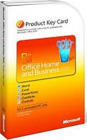 Microsoft Office 2010 Home and Business 32-bit/x64 Ukrainian, Attach Key (T5D-00322) вскрытый