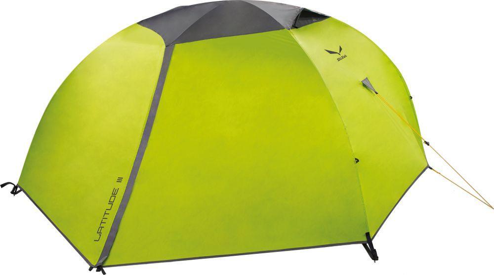 Трехместная легкая палатка Salewa LATITUDE III 5900 5311 UNI, зеленый