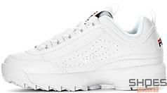 Мужские кроссовки Fila Disruptor II White