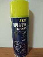 Mannol 8121 White Grease / белая литиевая смазка