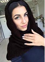 Практичный шарф-хомут: новый цвет