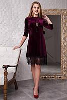 Очаровательное платье украшено гипюром