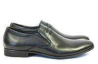 Классические мужские туфли без шнурков кожа