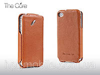 Чехол для iPhone 4/4s - Momax Litchi flip case (GMSDAPIP4SA07)