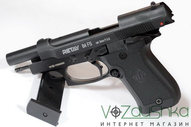 Стартовый сигнально шумовой пистолет 9 мм Retay 84FS