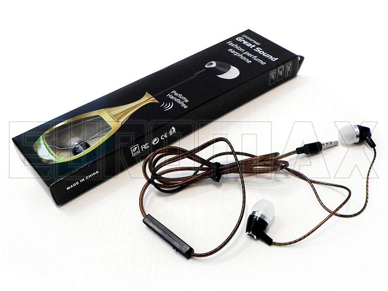 Наушники вакуумные с микрофоном парфюм MDR-YZ-08