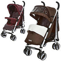Детская коляска-трость Bambi (M 3432-2 SOFT)