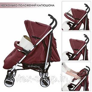 Дитяча коляска-тростина Bambi (M 3432-2 SOFT) (Коричневий), фото 2