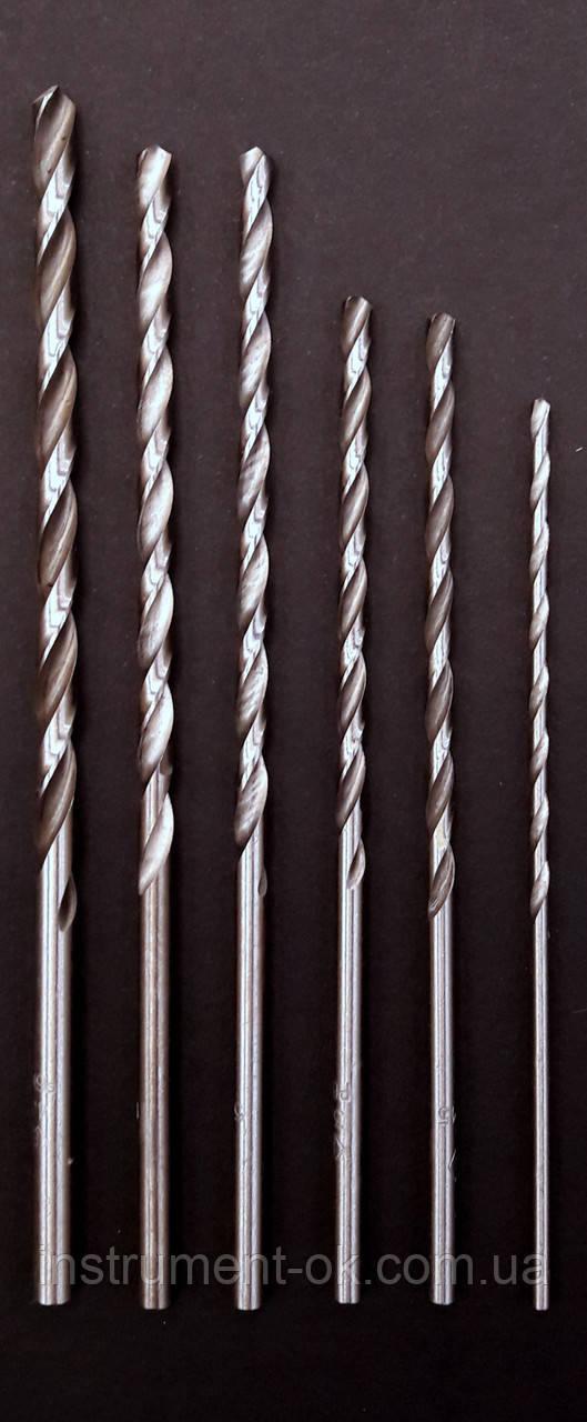 Сверло по металлу полированное удлинённое d 2 мм
