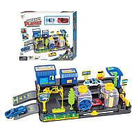 Гараж P8688A-3 36,5-19,5-10,5 см, машинка 2 шт 36,5-19,5-10,5 см, машинка 2 шт
