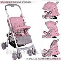 Детская прогулочная коляска El Camino (M 3420-8 NOTA) Розовая, фото 2