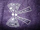 Ангора. Жіночі рукавички Корона. Бамбук, фото 7
