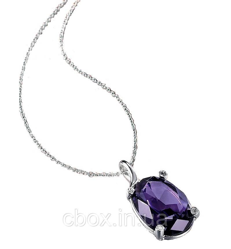 "Колье ""Фиалковый блюз"", Avon, Purple Stone Necklace, Эйвон, 41545"
