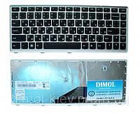 Оригинальная клавиатура для ноутбука Lenovo IdeaPad U310 Black