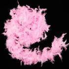 Боа из перьев 40г розовое