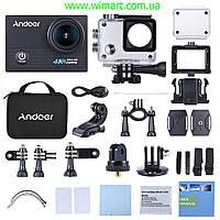 Экшен камера Andoer AN5000 4K 24fps WiFi. Черная.