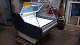 Холодильная витрина КОХКА 1 м. бу, витрина гастрономическая., фото 2