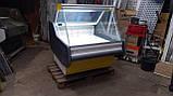 Холодильная витрина КОХКА 1 м. бу, витрина гастрономическая., фото 3