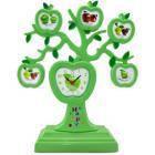 Семейное Дерево 5 фото Яблоки + Часы